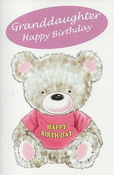 Birthday Greetings To My Female Cousin Relation Cards Granddaughter Happy