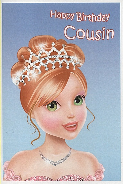 Happy Birthday Cards For Female Cousin Cupboard Design Galleries