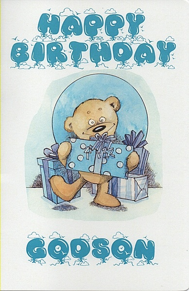 Male relation birthday cards happy birthday godson happy birthday godson bookmarktalkfo Images