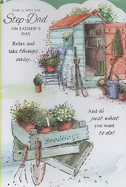Occasion Greeting Cards, Father's Day Cards, Step Dad, For A Special Step-Dad On Father's Day,