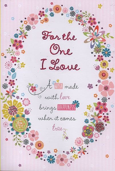 Female Relation Birthday Cards For The One I Love