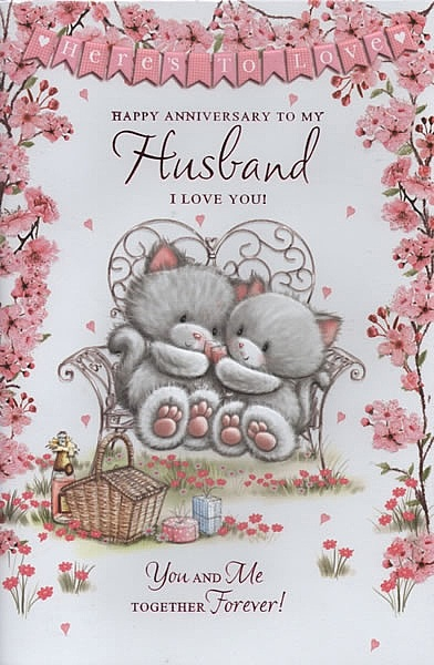 Family anniversary cards happy anniversary to my husband i love you happy anniversary to my husband i love you m4hsunfo