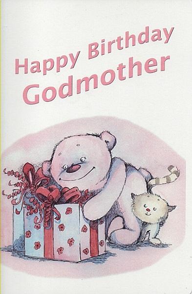 Female Relation Birthday Cards Happy Birthday Godmother