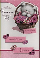On Mother's Day, Nanna Have A Happy Day!