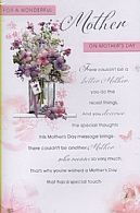 For A Wonderful Mother On Mother's Day
