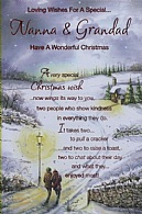 Loving Wishes For A Special...Nanna & Grandad Have A Wonderful Christmas