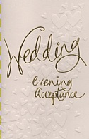 Wedding Evening Acceptance