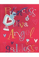 Princess Diva Angel Goddess Gift Bag And Tag