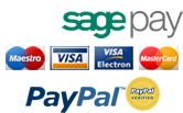Secure online credit card processing with SagePay