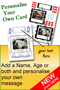 Design your own custom greetings card